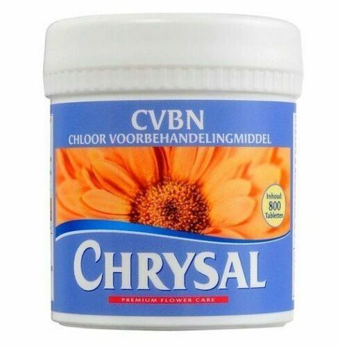 Chrysal CVBN Tablets 800 count jar clear odorless water Flowers Pill NEW SEALED