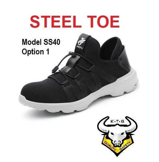 Steel Toe Steel Sole Safety Shoes / Boots - KTG Safety