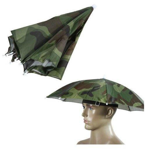 Regenschirm Sonnenschirm Reise Hut Mütze Kopfbedeckung R-062