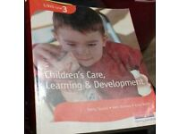 Childrens care learning and development level 3