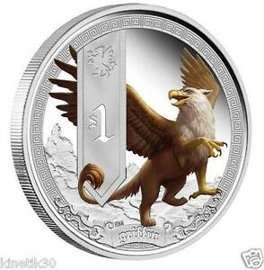 2013 Griffin Mystical Creatures - 1 oz Silver Proof Coin