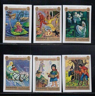 MANAMA Hans Christian Andersen Fairy Tales MNH imperforate set