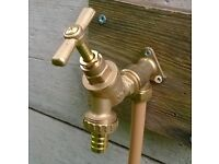 Garden tap outside tap fitting service