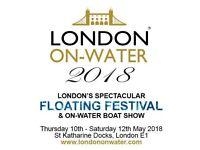 London On-Water Festival tickets