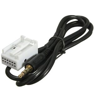 VW GOLF MK5 AUX IN INPUT ADAPTER INTERFACE CABLE LEAD RCD210 RCD310 RC510 IPOD