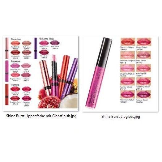 Avon SHINE BURST Lippenfarbe mit Glanzfinish 1,8g und oder Lipgloss 6ml Auswahl