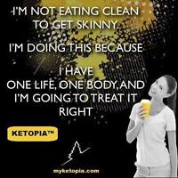 Ketopia-Healthy lifestyle/weight loss program
