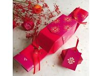 Brand new: Luxury gift box crackers - perfect for unusual gift wrapping, dinner parties etc