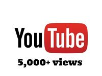 5000 REAL YouTube views