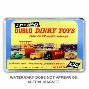 RETRO HORNBY DUBLO  DINKY TOYS SHOP DISPLAY -  JUMBO FRIDGE / LOCKER MAGNET
