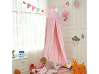 Bed pink canopy / play tent