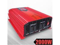 2000w Inverter 4000w peak caravan campervan generator microwave 12V