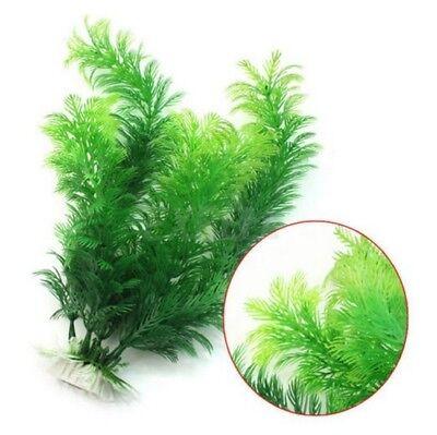 Fish Tank Artificial Plant Aquarium Plastic Ornament Underwater Weed Grass Decor