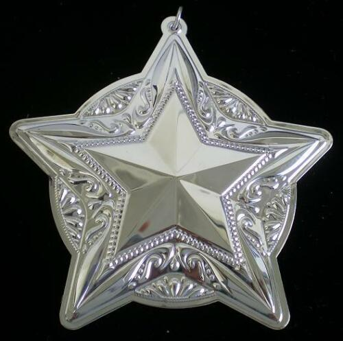 2008 Towle Old Master Star Sterling Christmas Ornament 12th Edition