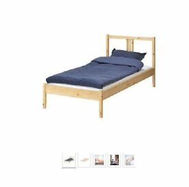 FJELLSE IKEA SINGLE BED plus mattress - practically new! Occasion!