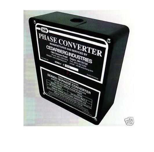 Cedarberg Phase Converter Series Ib Horse Power 1/4-1/2