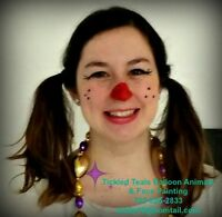Balloon Animals & Face Painting by Tickled Teals