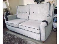 Sofa suite, 3+2+footstool. £499.