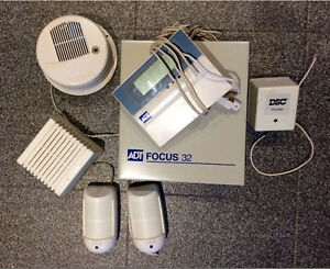 ADT Focus 32 Alarm System. Fully Equipped