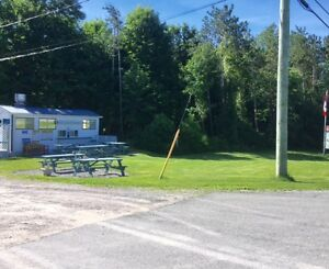 Chip truck/concession location for lease. Busy for 25 years!