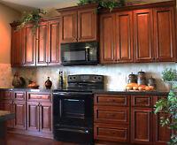 Armoires cuisine en bois , a partir de $2199