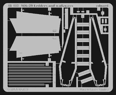 Eduard Accessories 48437 - 1:48 Mig-29 Ledders And Walkways - Ätzsatz - Neu