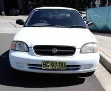 1999 Suzuki Baleno Hatchback Artarmon Willoughby Area Preview