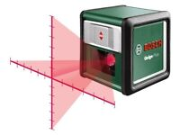 Bosch Laser (lazer) crosshair level (New) With instructions but no box.