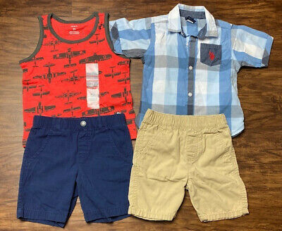 Lot of Little Boys Clothing, Size 2T/24 mos. Nautica/Carters/Polo/Levis
