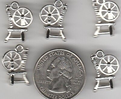 YOU GET 20 METAL SPINNING WHEEL CHARMS,  - FROM  JUNKMANRALF  U.S. SELLER. - A 8