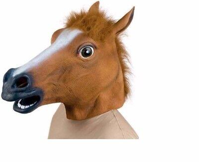 Novelty Creepy Horse halloween mask extremely funny jokes masquerade scary masks - Halloween Scary Jokes