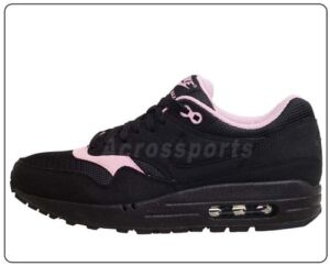 Nike Wmns Air Max 1 Womens NSW Running Shoes 5 Colors to Select Purple 90 Black