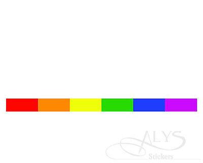 Gay Lesbian Pride Rainbow Auto Strip Parade 1