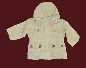 Baby girl hooded jacket from H & M, 9-12 months.