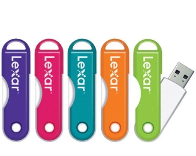 Lexar JumpDrive Twist Turn 32 GB, USB 2.0 flash drive NIP As