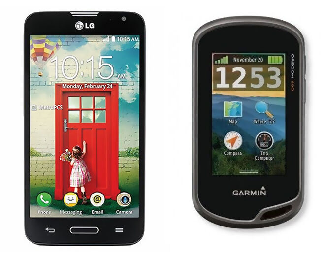 geocaching gps vs iphone