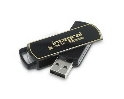 Aes 128 Encryption - 128GB Integral Secure 360 Encrypted USB3.0 Flash Drive (256-bit AES Encryption)