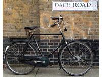 Vintage Omabike Opafiets dutch bike GAZELLE - 3 speed, frame size 22in , BROOKS - Welcome for ride
