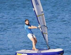 NEW Inflatable 3 in 1 boat / yacht / wind surfer / ski towable Malaga Swan Area Preview