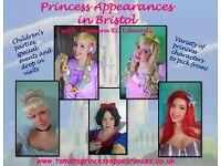 Princess Appearances & Parties in Bristol