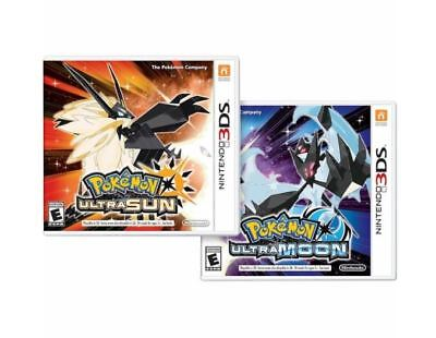 Pokemon Ultra Sun And Pokemon Ultra Moon Dual Pack Combo   Nintendo 3Ds