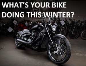 What's your bike doing this winter?