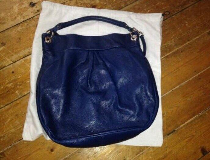 Marc by Marc Jacobs Blue Classic Q Hillier Hobo Shoulder Bag  8160f4e356