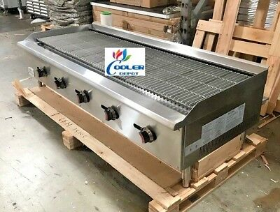 Nsf 60ins Heavy Duty Radiant Broiler Cd-rb60grill Shawarma Restaurant Equipment