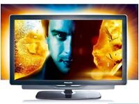 Philips TV, 32inch Full HD 200Hz Ambilight LCD LED TV/ satellite FreeView