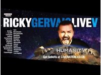 Ricky Gervais LIVE Plymouth