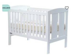Cot and Mattress Package - Brand New