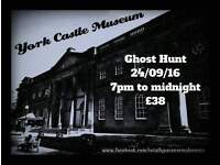 YORK CASTLE MUSEUM Paranormal Investigation