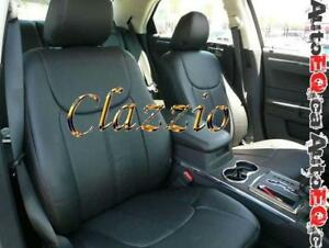 Clazzio Synthetic Leather Seat Covers (Front + Rear Rows) | 2007-2019 Honda Fit