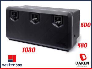 daken 1000 coffre a outils 154 l bo te de rangement camions bo te outils ebay. Black Bedroom Furniture Sets. Home Design Ideas